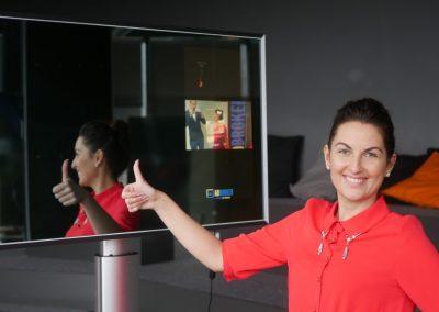 reklama veidrodyje